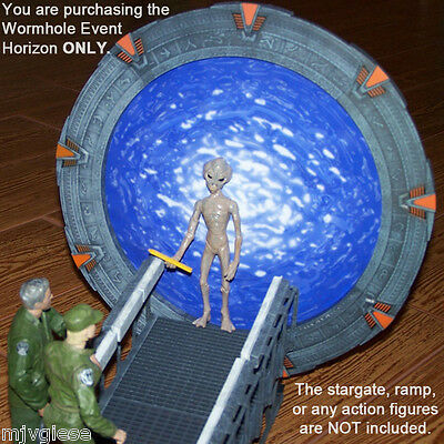 ATLANTIS WORMHOLE Event Horizon Backdrop Photo for DST Diamond Select Stargate