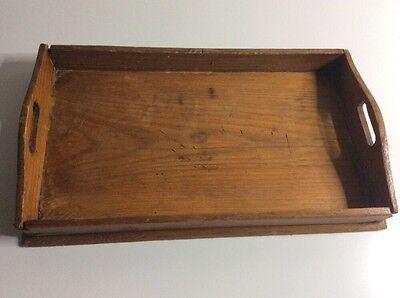 Altes Puppen Serviertablett Holz /aus Der Zeit Um 1850 GroßE Auswahl;
