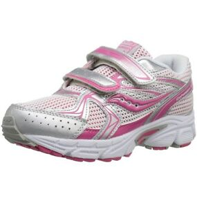 NEW-Saucony-Girls-Cohesion-H-amp-L-Running-Shoe-Training-Shoes-Size-12M-NIB