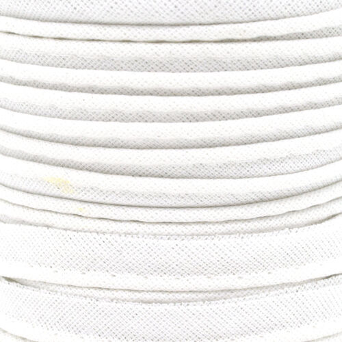 2m of 10mm Cotton Piping Insertion Cord Flange Bias Piping Upholstery Sewing