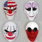 Payday 2 The Heist Dallas Chains Hoxton Wolf Halloween Cosplay Clown Face Mask