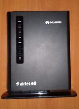 USED Airtel Unlocked Huawei E5172 Wireless 4g Router Modem WiFi LAN CCTV DVR