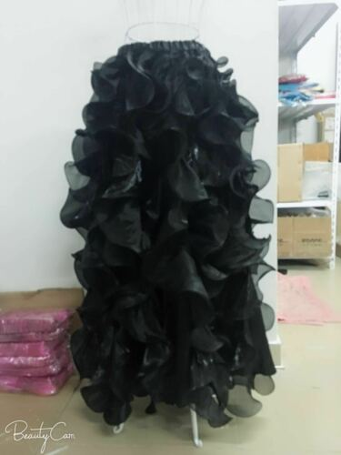 Arabic Belly Dance Costume Slit Skirt Dress Dancer Professional Wave Skirt Dress