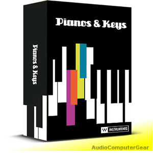 Waves-PIANOS-amp-KEYS-Collection-Audio-Software-Instrument-Plug-in-Bundle-NEW