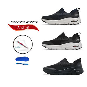 Skechers-Arch-Fit-Banlin-Mens-Supportive-Slip-On-Casual-Walking-Shoes-Pick-1