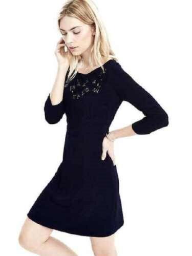 BANANA REPUBLIC WOMENS 482084 EMBELLISHED CREPE DRESS $158.00 NEW  2