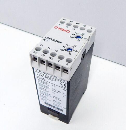 KIMO Lektromik 2K1-14 elektronische  Anlaufdämpfung  Softstarter used