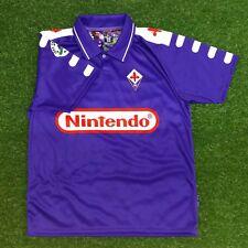 "Fiorentina Men's Retro Soccer Jersey, 1998-99, Batistuta #9, ""Replica"""