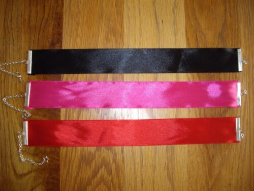 choker Black Choker Red Choker Fancy Dress necklace Pink Choker REDUCED