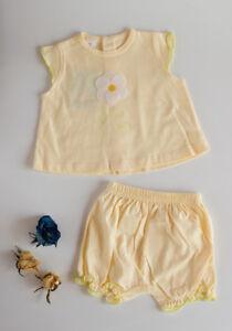 Conjunto-de-nina-amarillo-Flor-de-BELTIN-talla-3-meses