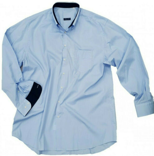 Camicia uomo taglie forti cotone manica lunga oversize oversize NAVA no Maxfort