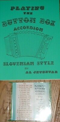 Learn Slovenian Button Box Accordion Sheet Music Song Instruction Book /& CD # 2