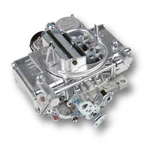 Holley-0-80457SA-600CFM-4bbl-Factory-Refurbished-ALUMINUM-Carb-Electric-Choke