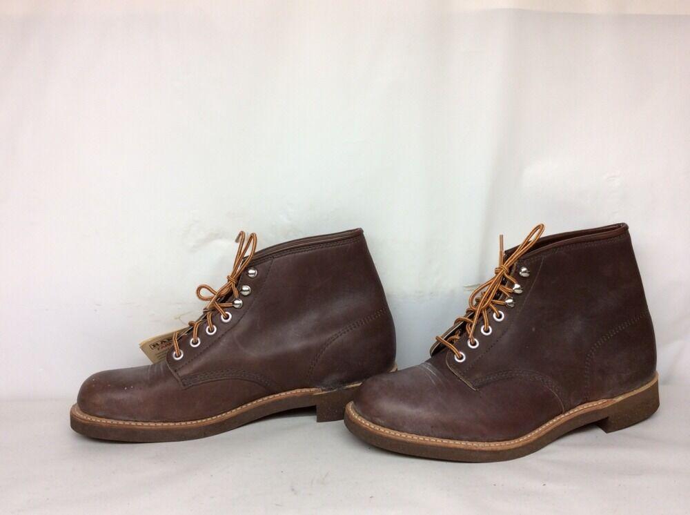 Nuevo con etiquetas de colección Hombres Ranger Trabajo Agrícola marrón botas talla 9.5 EE