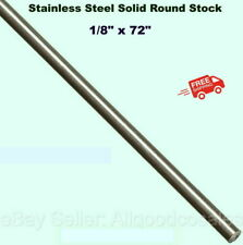 Stainless Steel Solid Round Stock 18 X 6 Ft Alloy 303 Unpolished Rod