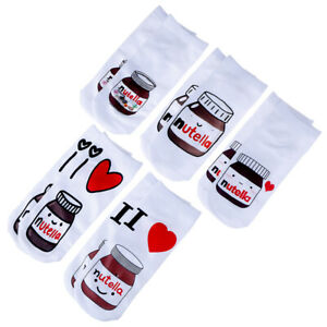 1Pair-3D-Medium-Sports-Socks-Unisex-Milk-Candy-Print-Sports-Ankle-Short-SocksTCR