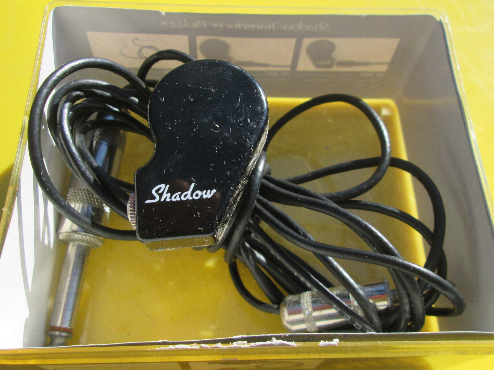 NICE Shadow SH2001 Fretted Instrument Acoustic Guitar Bridge Pickup Transducer