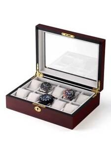Rothenschild-Uhrenbox-RS-1087-10C-fuer-10-Uhren-cherry
