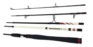 PENN SQUADRON MK II TRAVEL SPIN SALT WATER SPINNING ROD 5 PIECE 8ft 9ft or 10ft