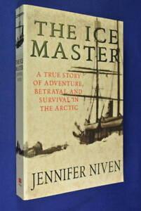 THE-ICE-MASTER-Jennifer-Niven-ARCTIC-EXPEDITION-Polar-Travel-Exploration-Book