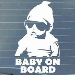 COOL-Baby-on-Board-window-STICKER-DECAL-VAN-CAR-COLOUR-DUB-JDM