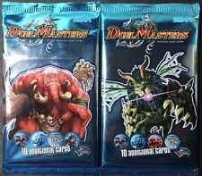 2004 Duel Masters TCG DM-01 Booster Pack Lot of 2 Packs SEALED
