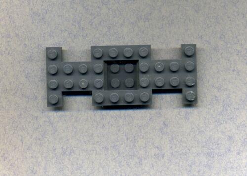 Lego--4212--Fahrgestell--Bauplatte--Unterbau- Grau/DkStone- 4 x 10