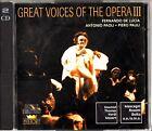 GREAT VOICES OF THE OPERA- Fernando De Lucia/Antonio Paoli/Piero Pauli Best 2-CD