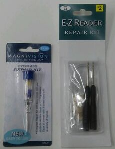 LOT OF 8 Eyeglass repair kit Magnivision/E-Z Reader ...