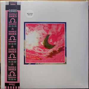 DJANGO-DJANGO-LP-CD-Album-Marble-Skies-NEW-2018-Vinyl-Album-SEALED-Poster