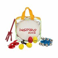 Inspiro Kids Musical Instruments Band-in-a-bag Percussion Toys ... Free Shipping