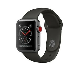 iWatch Series 3(GPS+CEL) 42mm Case Space Gray Aluminum Case With Apple Warranty