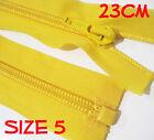 Nylon Open End 23cm Zipper Size 5