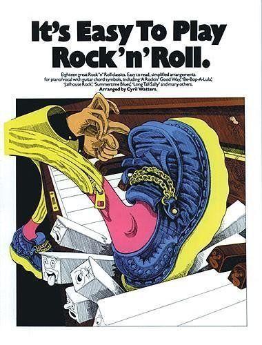 1 of 1 - It's Easy to Play Rock 'n' Roll: P/V/G, Watters, Cyril, Very Good Book
