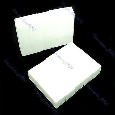 Wholesale Nail Art Buffing Sanding Buffer Block Acrylic Pedicure Manicure White