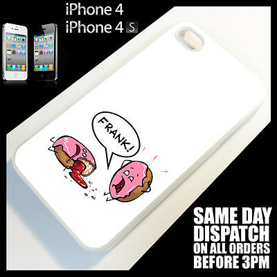 Cover for iPhone 4/4S/4G Donut>Quirky>Funny>Cute>Cartoon> Phone Case *2137