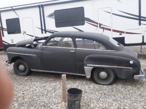 1949 Dodge 2 door Coupe 16000 miles Needs Engine