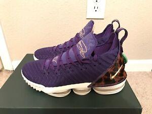cheap for discount 26713 b0588 Details about Nike Lebron 16 King Purple Size 10.5 'King Court' Los Angeles  Exclusive LA