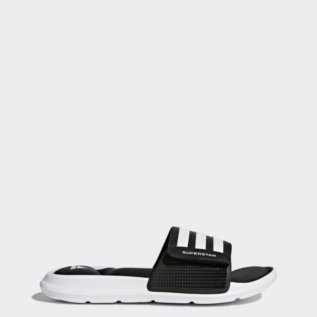 a73558ff68fd Adidas men superstar slide sandal white black us ebay jpg 640x640 Adidas  superstar slippers