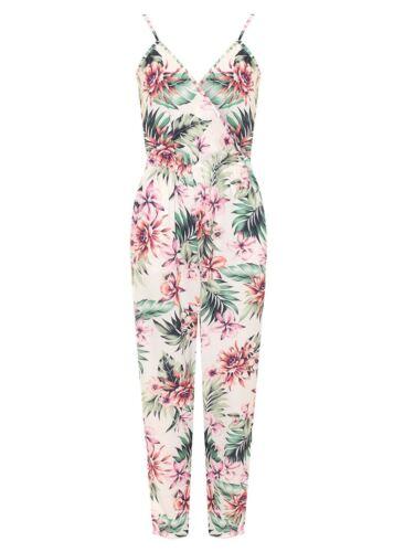 Taille Combinaison avec Leaf avec floral imprimᄄᆭ sans Plus Wrapover manches Green Combinaison pour imprimᄄᆭ femme fantaisie PuTOXkZi
