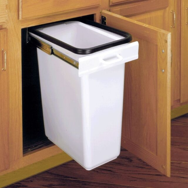 Rev A Shelf 6700 99 E Z Hider Kitchen Trash Can Drawer Holder Free Ship For Online