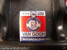 PEINTURE AQUARELLE 1/2 GODET Van Gogh - Rouge permanent clair 370 +++ TALENS