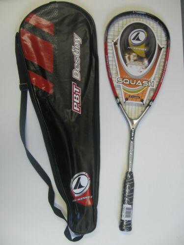 Pro Kennex PBT Destiny Super Lite Graphite Squash Raquette.. deux pour £ 59.99