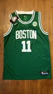 new product d45a4 c87b6 Details about NEW! OFFICIAL NBA KYRIE IRVING BOSTON CELTICS JERSEY YOUTH  Large, GREEN / WHITE