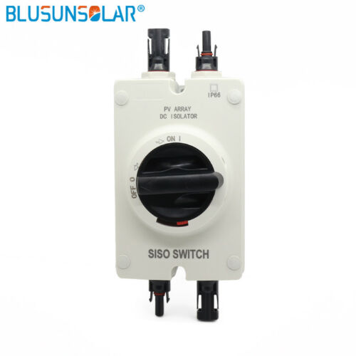 1 pcs High performance Solar Electrical DC 1000VDC Isolator Switch with 2 pairs