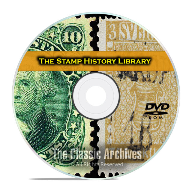 Stamp Collecting Library 224 Books Philately Vintage Price Guides PDF DVD E81
