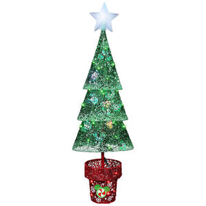 Disney Magic Holiday Mickey Pre-Lit Tree Multi-Function Multicolor LED Light