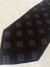 GIVENCHY cravatta tie original 100% seta silk Made in Italy nuova new