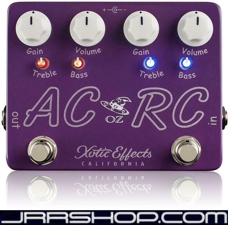 Xotic Effects AC RC-OZ Boost Overdrive Pedal New JRR Shop