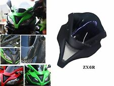 Front cowl fairing cover ZX6R Style for KAWAZAKI NINJA250/300 with Windshield